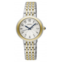 Seiko Ladies Two Tone Bracelet Watch SRZ506P1